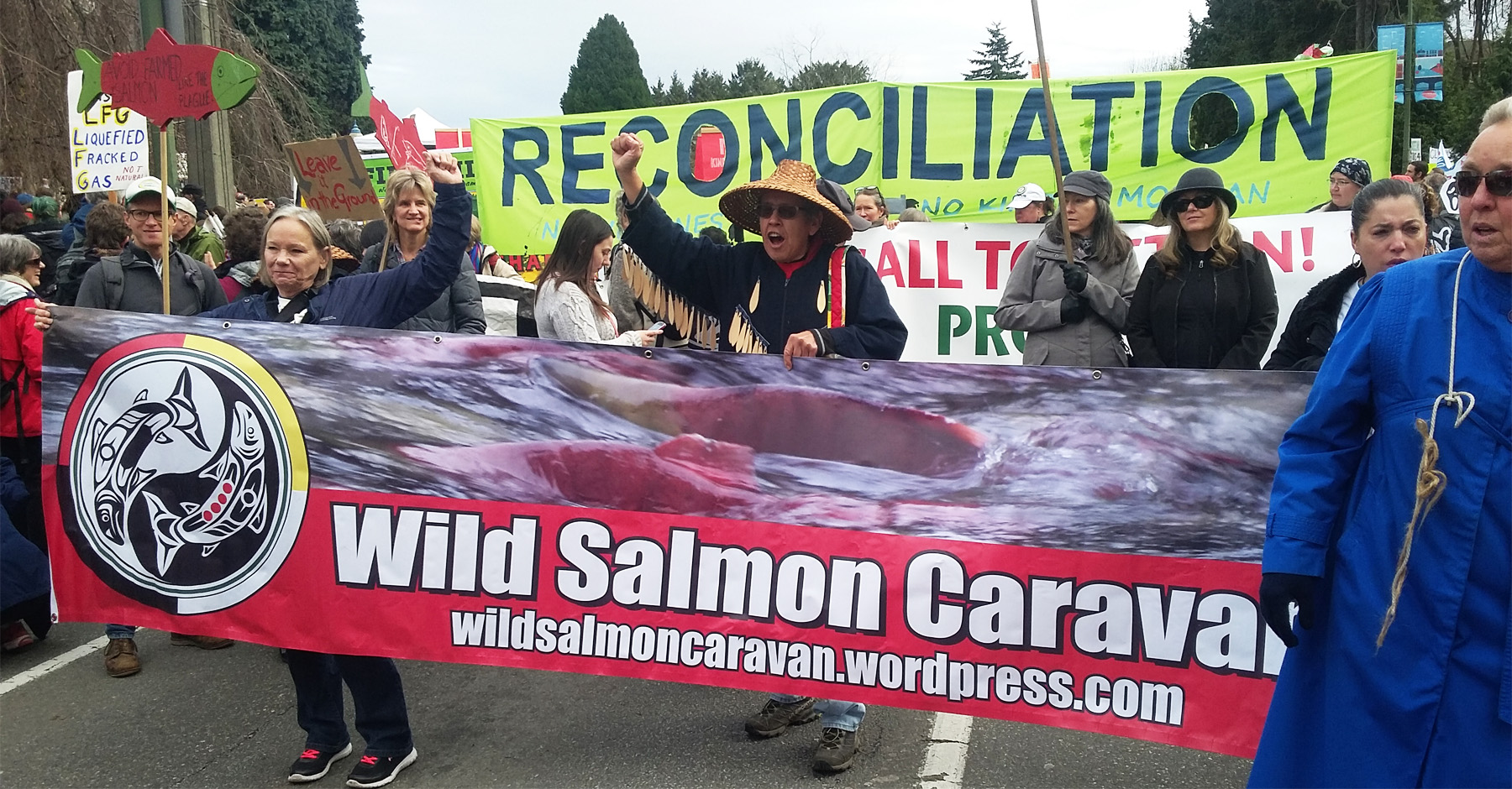 wild salmon caravan - eddie gardner